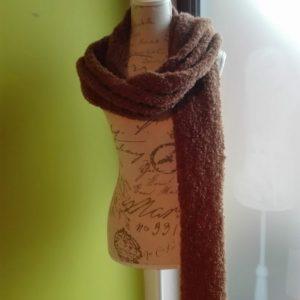 lange sjaal in alpaca