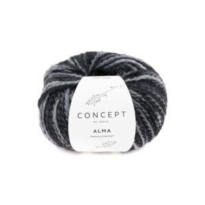 Alma zwart grijs