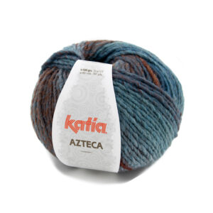 Azteca blauw roestbruin bruin