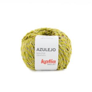 Azulejo geelgroen gespikkeld